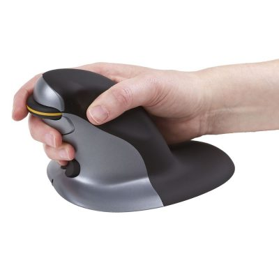 Penguin Mouse - Hand Grip Side
