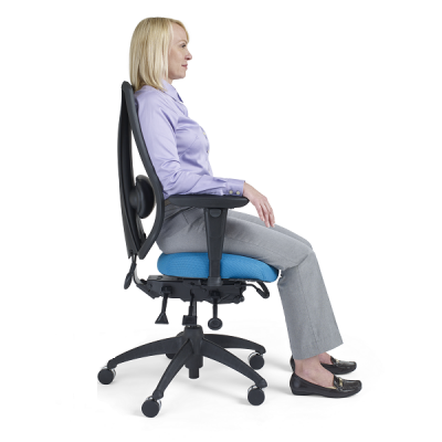 tCentric Chair - Lifestyle - Properly Seated